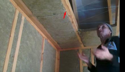 утепление потолка минватой фото 2