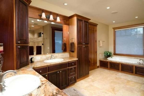 как сделать ванную комнату в частном доме, фото 30