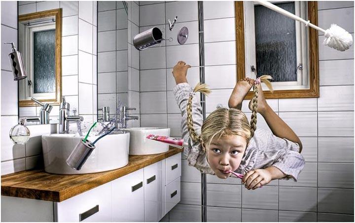 мощный вентилятор в ванной комнате