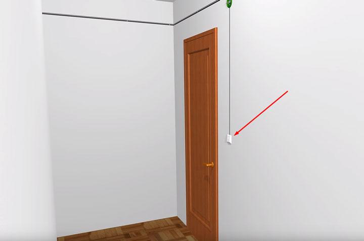 вентилятор вытяжки ванной подключается только от выключателя снаружи комнаты