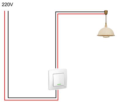 Общие принципы монтажа выключателей