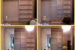 финишная отделка шкафа