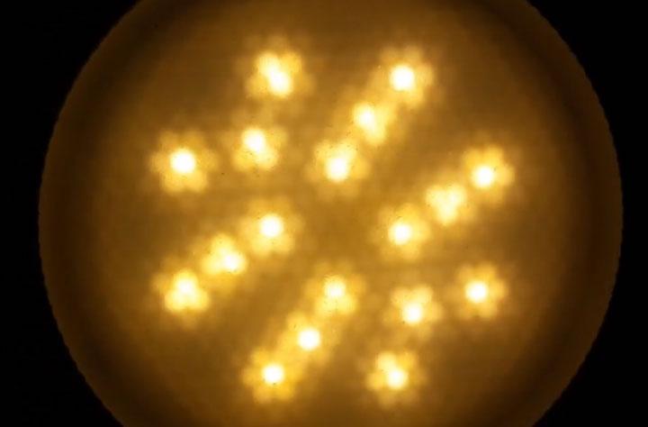 проверка светодиодной лампы без пульсации через смартфон