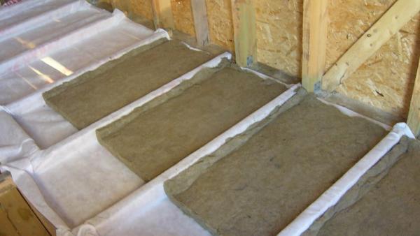 Утепление потолка минеральной ватой со стороны чердака: пошаговая инструкция