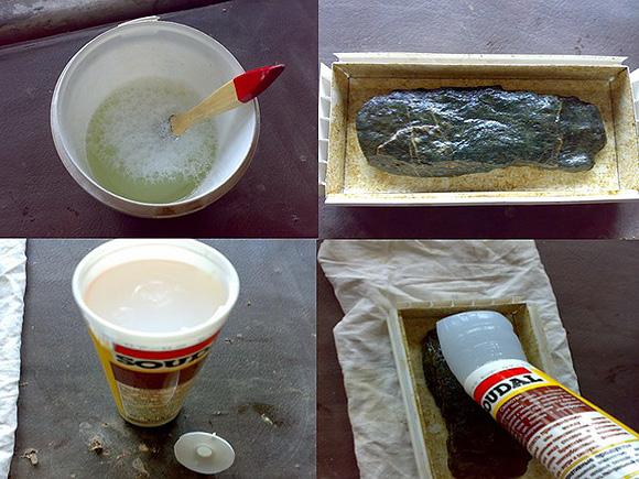 Изготовление декоративного гипсового камня своими руками