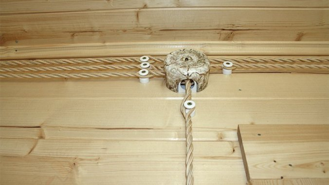 прокладка наружной электропроводке