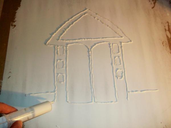 Делаем картины из шпаклевки своими руками – пошаговый мастер-класс