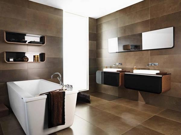 красивый дизайн ванных комнат в частных домах, фото 15