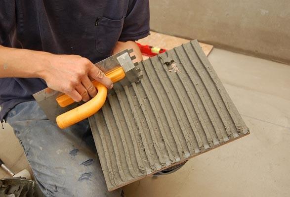 Учимся, как правильно затирать плитку