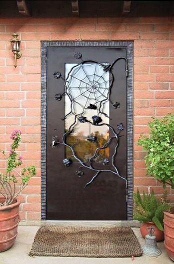 Железная дверь своими руками со стеклом