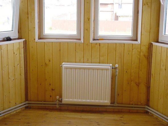 как подключить радиатор отопления в частном доме