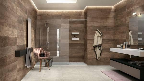 ванная в частном доме фото, фото 18