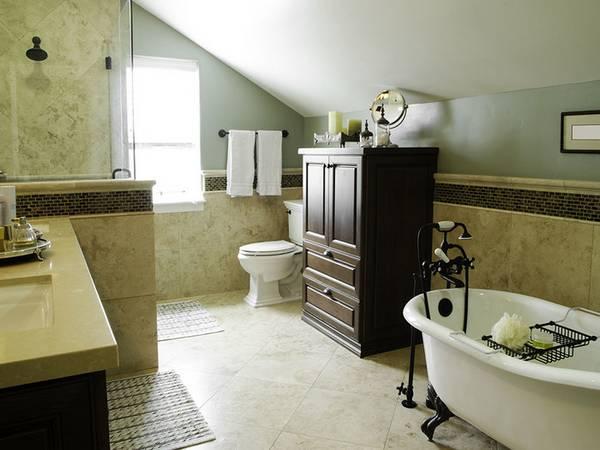 ванная комната в частном доме дизайн фото, фото 12