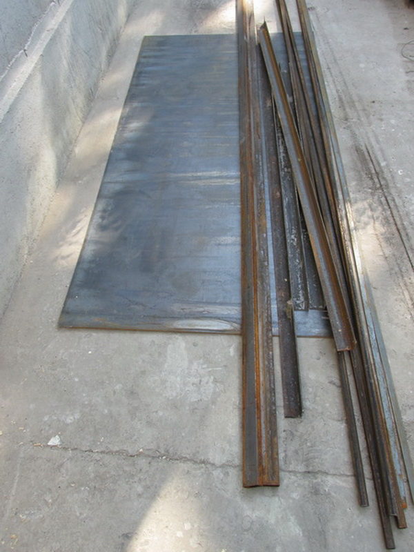 Закупка материала для изготовления металлической двери