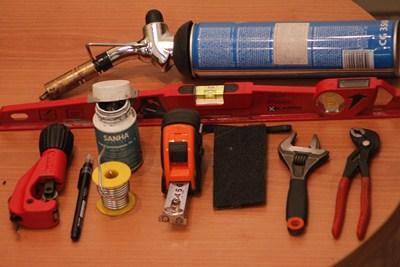 Инструмент для пайки медных труб