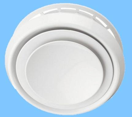 Анемостат на две тарелки