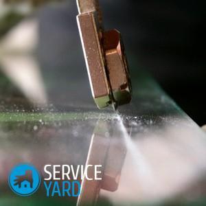Как разрезать каленое стекло в домашних условиях?