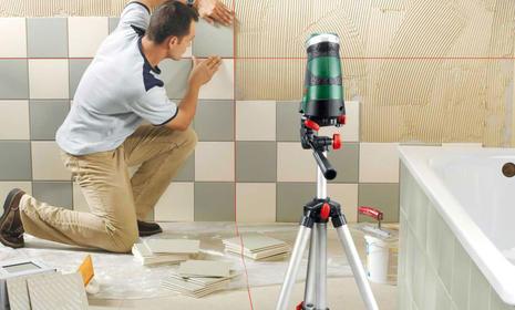 Три простых шага подготовки поверхности стены перед укладкой плитки