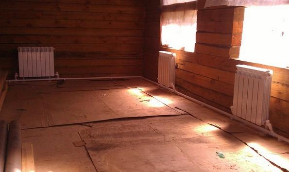 Однотрубное отопление в частном доме.