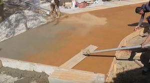 Заливка бетонных полов