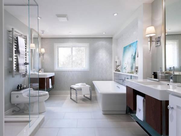 красивый дизайн ванных комнат в частных домах, фото 6