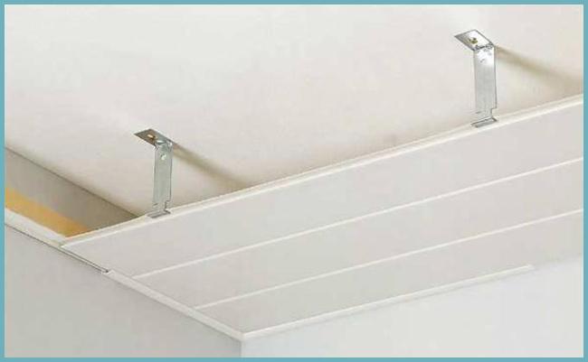 как устроен подвесной потолок