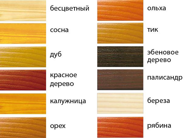 Фото: выбор цвета