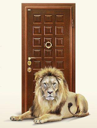 Железная дверь своими руками