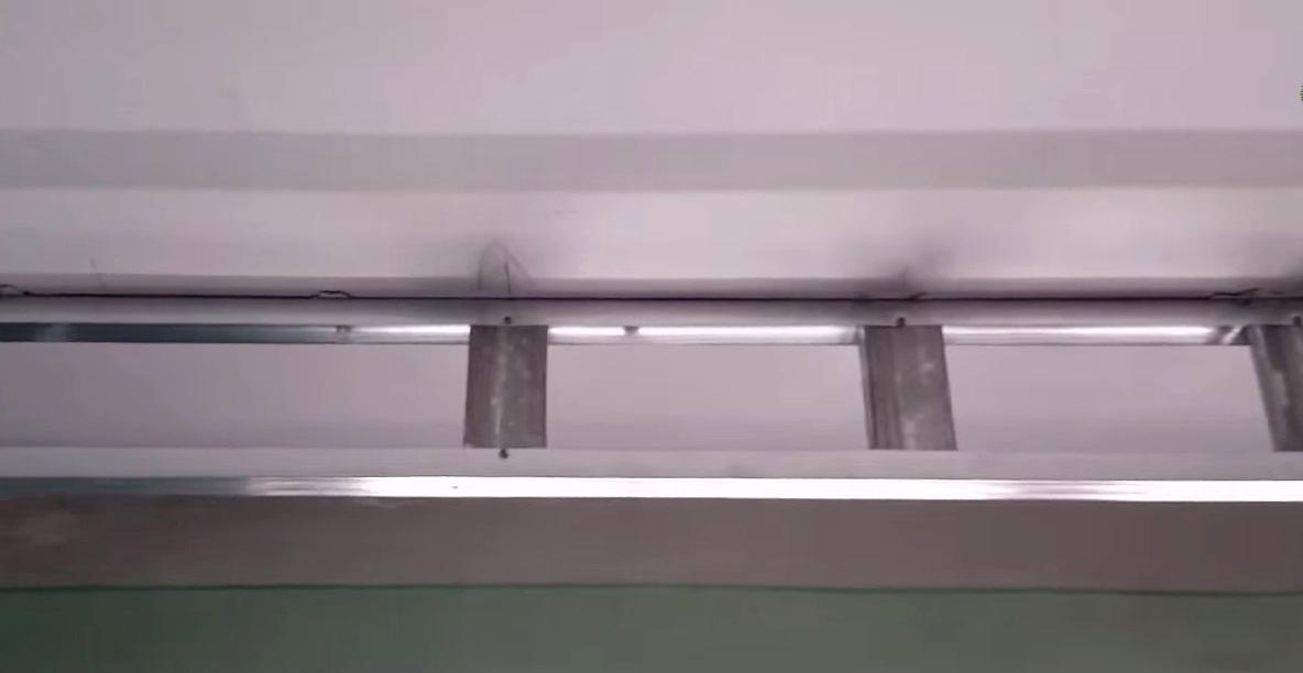 Гипсокартонные ниши для штор на потолке