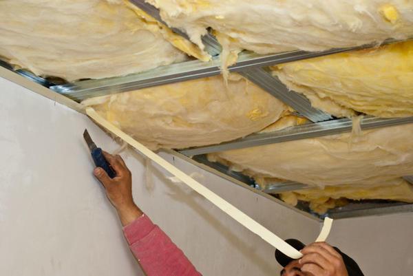 Как утеплить потолок минватой изнутри