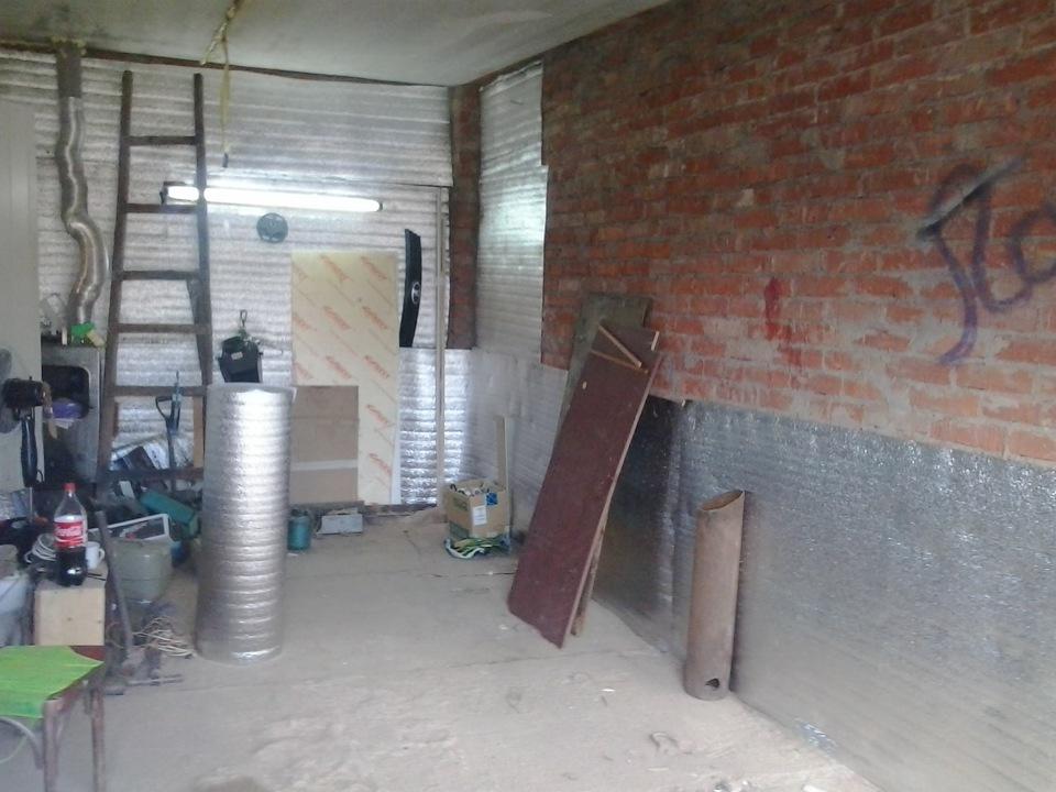 Материалы для теплоизоляции кирпичного гаража