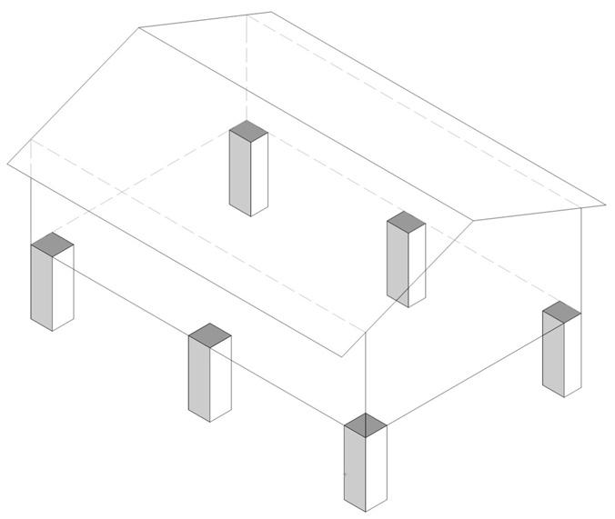 Шаг 2. Закладка фундамента