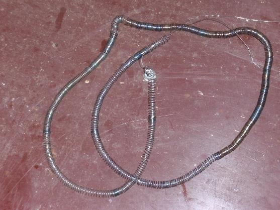 Прибор с нихромовой спиралью