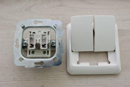 Как подключить выключатель скрытой проводки