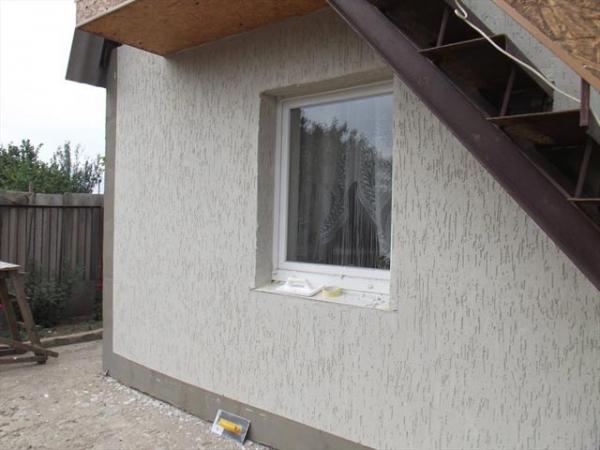 Мокрый фасад декоративная штукатурка