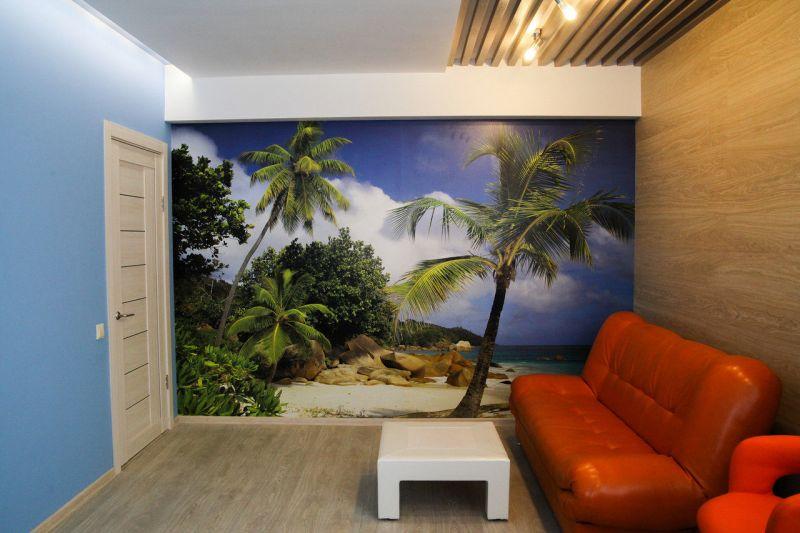 Отделка стен в квартире — фото обзор самых популярных видов