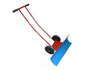 Как сделать лопату для уборки снега