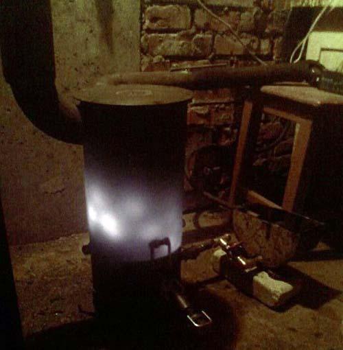 Отопление гаража масляным обогревателм