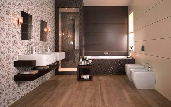 ванная комната в частном доме, фото 35