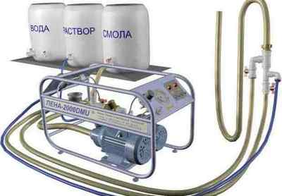 Производство жидкого пенопласта (пеноизола)