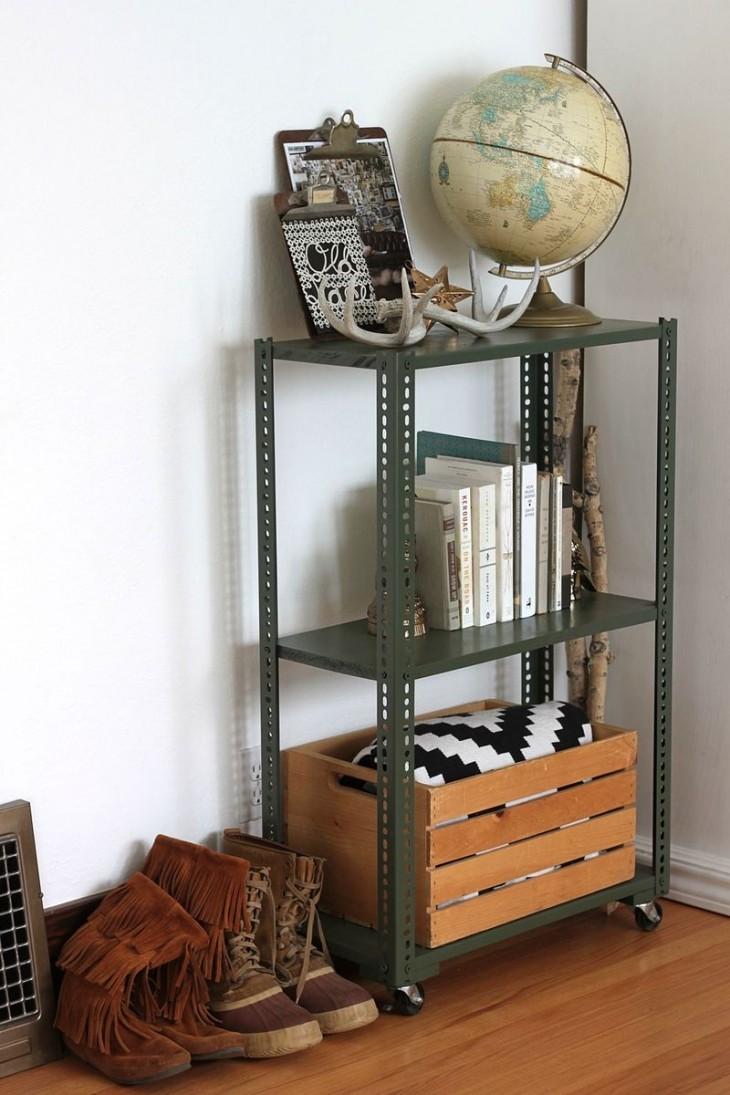 Стеллаж своими руками — создаем место для хранения легко и просто (62 фото-идей)