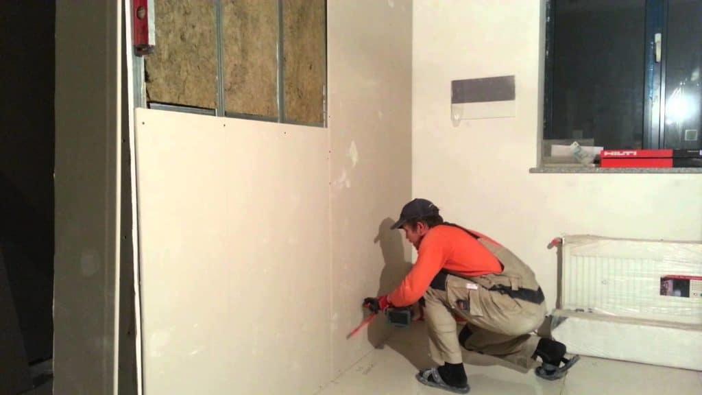 Гипсокартон для выравнивания стен