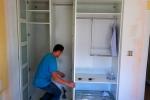 оформление шкафа из гкл