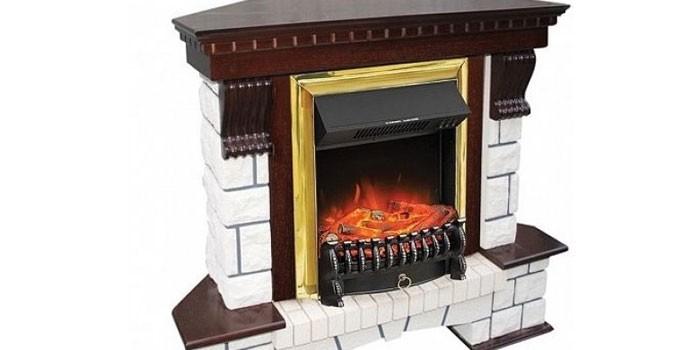 Электрокамин Royal Flame Pierre Luxe