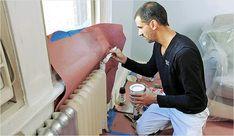 Окрашивание радиаторов отопления