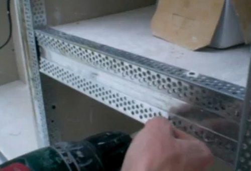 Шкаф из гипсокартона — делаем своими руками