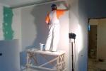 штукатурка стен в гостинной