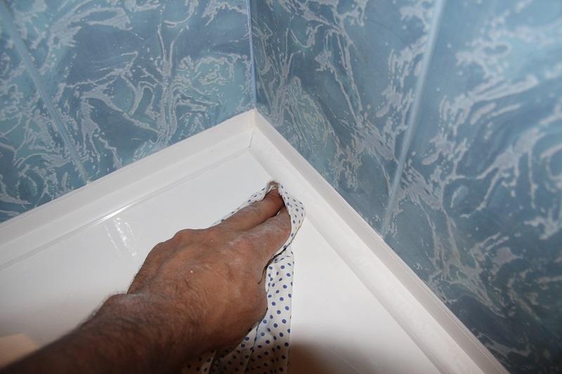 Установка бортика на старую ванну