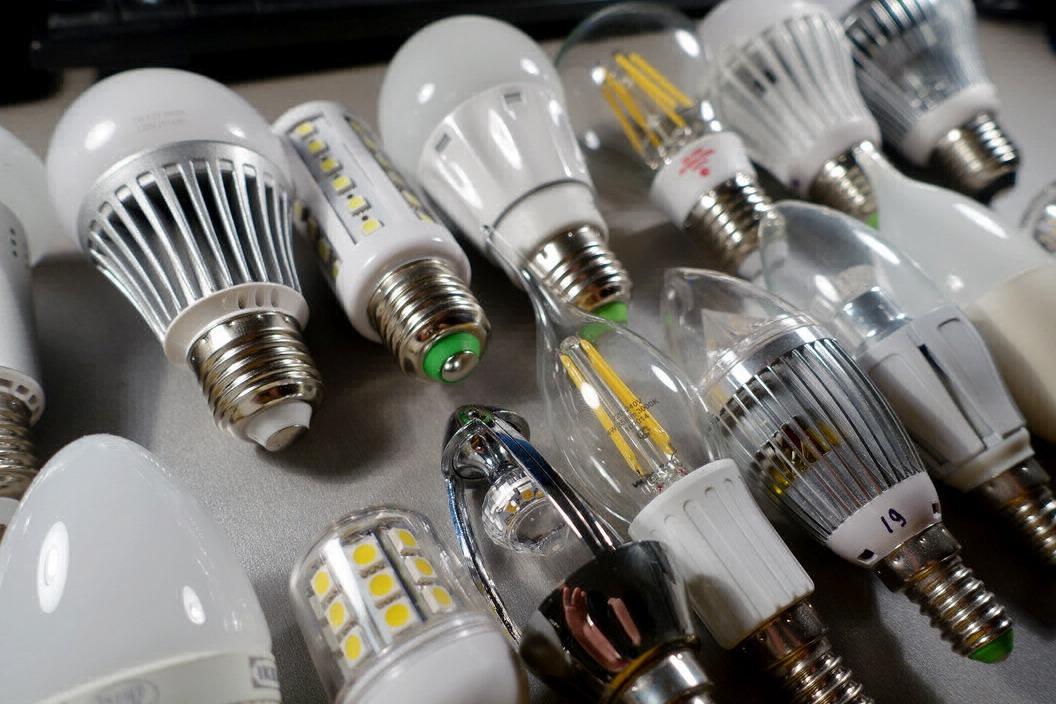 Разнообразные модели светодиодных ламп