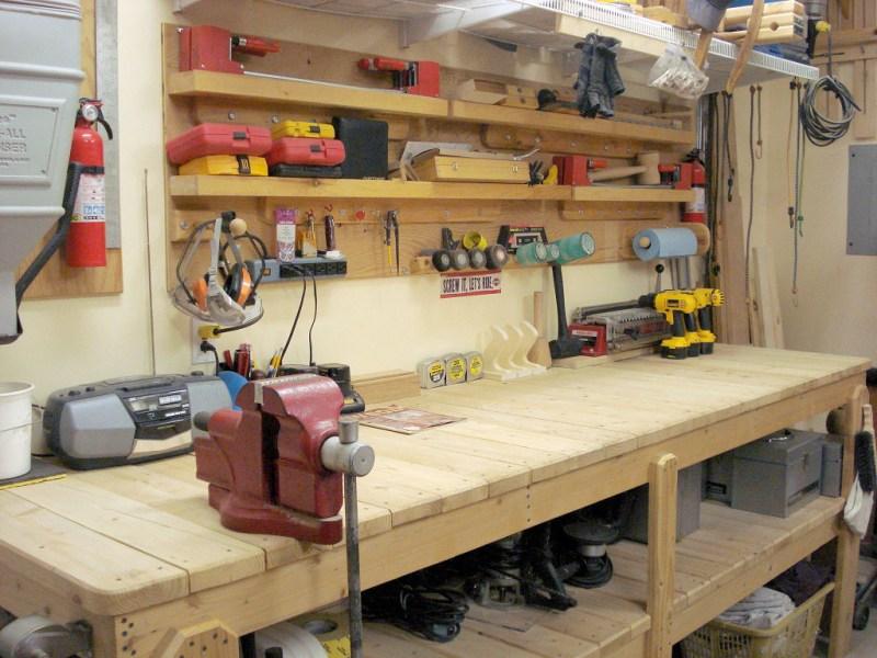 Верстак своими руками: как сделать слесарный и столярный стол. Обзор лучших идей и 80 фото различных моделей